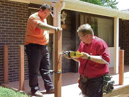 What Is A Banister On Stairs by How To Build Custom Deck Railings How Tos Diy