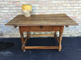 farm table kitchen island antique french kitchen farm table island in solid fruit wood