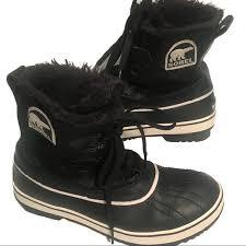 s winter boots size 9 83 sorel shoes sorel tivoli black waterproof winter boot