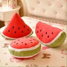 Aliexpress Home Decor Cool Watermelon Shape Cushion Home Decor Fruit Pillow Decorative