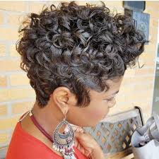 short pixie stacked haircuts 30 short haircuts for curly hair which look good on anyone