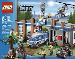 Lego Headquarters Amazon Com Lego City Police Forest Station 4440 Toys U0026 Games