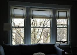Bow Window Shades Diy Roman Shade Tutorial No Sewing Required Anything Lovely