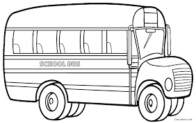 bus safety coloring sheets to color pages page graceful
