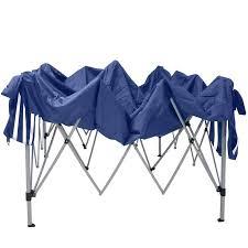 gazebo in alluminio pieghevole gazebo pieghevole alluminio tenda 3x3 metri 4 piedi e bianco