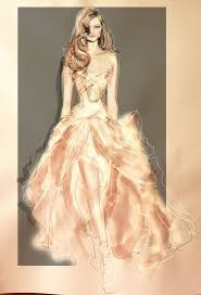 14 best moda images on pinterest drawings dress design sketches
