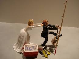 fishing wedding cake toppers fish fishing wedding cake topper not anytime soon but how