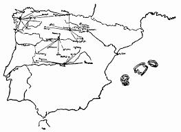 Iberian Peninsula Map Image Gallery Of Iberian Peninsula Outline