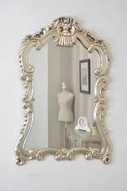 Ornate Bathroom Mirror Mirror Ornate Silver Bathroom Mirror Carved Ornate Framed