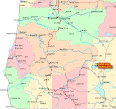 map of oregon united states map of oregon southwest