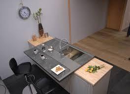 plan de travail cuisine ardoise l ardoise sobre élégante et locale inspiration cuisine le