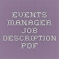 fashion marketing coordinator job description best 25 event coordinator job description ideas on pinterest