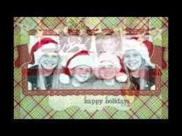 personalized photo christmas cards youtube
