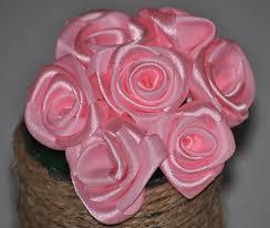 satin roses handfull of satin roses crafts and handmade pretties