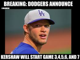 Chicago Cubs Memes - 11 best memes of clayton kershaw the los angeles dodgers shutting