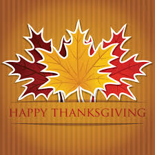 thanksgiving background with maple leaf vector design 05 vector