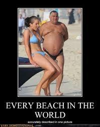 Sexy Guy Meme - every beach in the world very demotivational demotivational