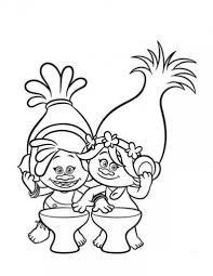 30 printable trolls movie coloring pages