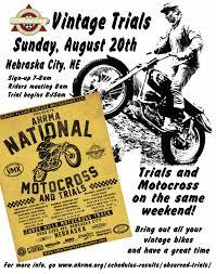 motocross race schedule observed trials u2013 ahrma