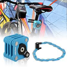 foldable magic cube bike bicycle cycling steel mtb safety chain