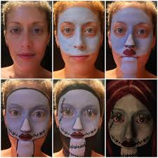 the nightmare before christmas makeup transformation album on imgur