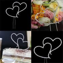 popular double heart wedding cake buy cheap double heart wedding