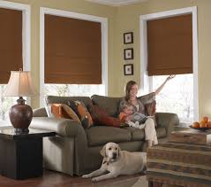 curtain cover your window using the charming cordless roman
