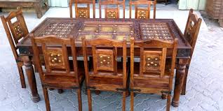 indian wood dining table antique indian furniture dubai a symbol of luxury artart and craft