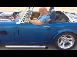 mg mg midget with a 327 first drive youtube