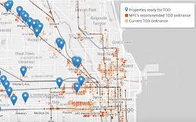 Chicago Zoning Map by Chicago Mayor Rahm Emanuel Floats Ordinance To Fast Track Transit