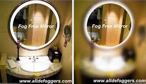 Bathroom Demister Mirror Mirror Defogger Mirror Demister Steam Free Mirror Fog Free Mirror