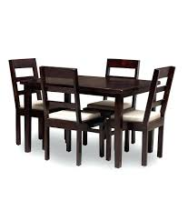 4 Seater Dining Table And Chairs Plain Ideas Dining Table Set For 4 Warm Seater Gurgaon