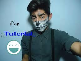 imagenes de calaveras hombres maquillaje de calavera para hombres y mujeres isaac youtube