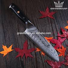 japanese 7 inch damascus steel santoku knife kitchen knife with