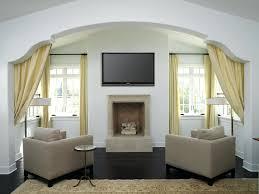 Niche Decorating Ideas Decorating Tv Niche Above Fireplace Modern Tile Ideas Best Design