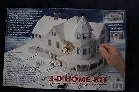 3d home kit by design works design works 3 d paper model home building kit 27 99 picclick