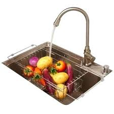 Kitchen Sink Drainer Mat Kitchen Sink Drainer Basket Clear Plastic Home And Sink
