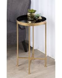 accent table sale hot sale porch den alamo heights zambrano round metal foldable
