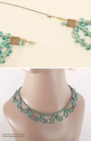 324 best beading necklace images on pinterest beads necklaces
