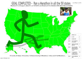 Map Of The 50 States 50 State Tracker Mohaniyer Com Its All About Me And My Running