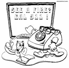 fire safety coloring pages coloring pages to download and print