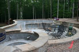 Slate Rock Patio by Stone Patio Designs Pictures Home Design Ideas And Pictures