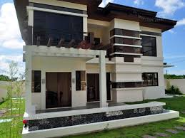 beautiful two storey modern house design ideas home decorating