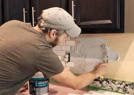 installing a subway tile backsplash for 200 best subway tile