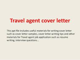 travel agent jobs images Travel agent cover letter 1 jpg