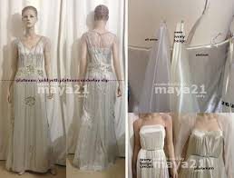 2014 vintage gatsby wedding gowns sheath open back with beaded