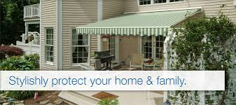 Sun Awnings For Decks Retractable Awning And Sun Screen Installation Great Day