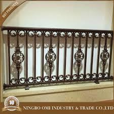 metal railing forged iron metal balcony railing galvanized iron
