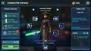 star wars galaxy of heroes level 80 update guide u2013 best