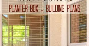 Redwood Planter Boxes by Pneumatic Addict Wood And Metal Planter Box Building Plans